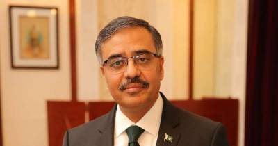 Pakistan new foreign secretary to leave for his first foreign visit to this country