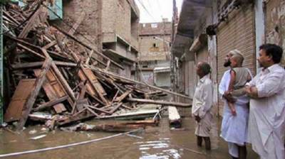 Seven killed in rain related incidents in KP