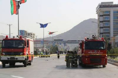 Bomb blast and followup heavy gunfire reported in capital Kabul