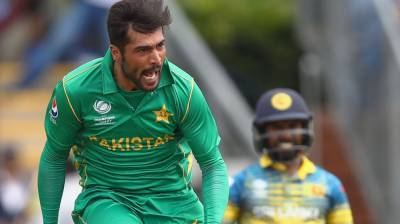 Mohammad Amir reacts over his exclusion from World Cup squad