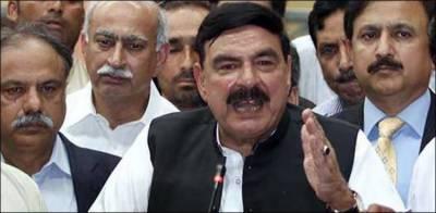 Sheikh Rashid announced 150,000 jobs in Pakistan Railways
