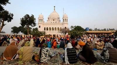 Sikh Yatrees visit Gurdwara Darbar Sahib Kartarpur