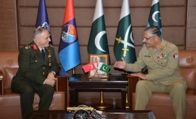 Turkish Militarty Deputy Chief met CJCSC General Zubair Mehmood Hayat