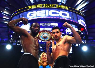 Amir Khan vs. Terence Crawford fight today