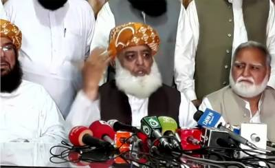 Fazal ur Rehman to lock down Islamabad, overthrow PTI government