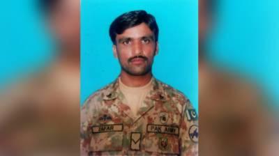 Hayatabad operation: Injured Lance Naik Zafar Iqbal embraces Shahadat