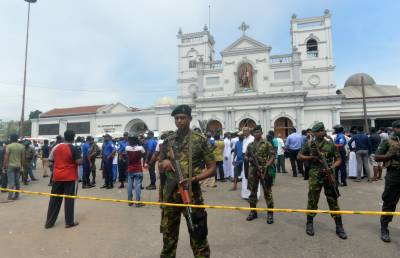 Multiple deadly blasts in Srilanka, 156 people killed including Americans and Britishers