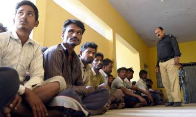 Pakistan released another batch of 100 Indian fishermen, over 445 Pakistani prisoners in Indian jails