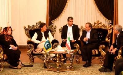 PM Imran Khan held first meeting upon arrival at Tehran