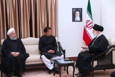 PM Imran Khan holds important meeting with Iran Supreme Leaders Khamenei