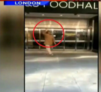 Shahbaz Sharif spotted window shopping alone on London Streets?