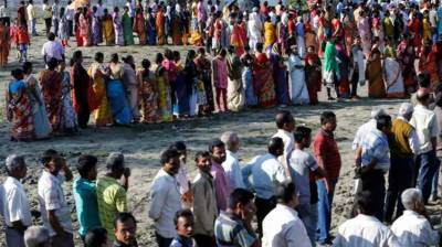 Polling for third phase of general election held in India