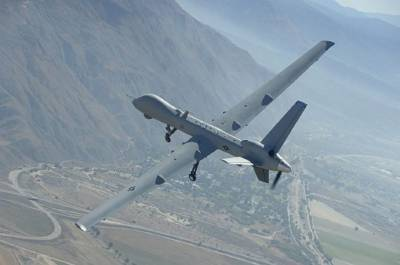 Taliban Commander killed in a US drone strike in Afghanistan near borders with Pakistan