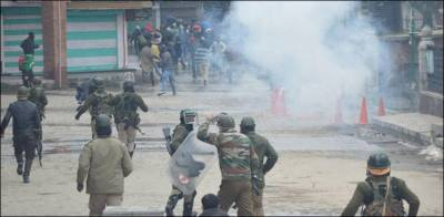 Indian troops martyred two Kashmiri youth in Occupied Kashmir in fresh act of state terrorism