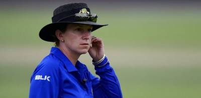 First ever woman umpire in history of cricket to stand in Men's ODI World Cup
