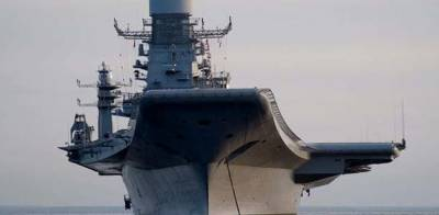 India's only Naval Aircraft Carrier catches fire at Karwar harbour Karnatake