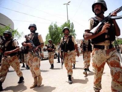 Major General Omar Bukhari takes charge as DG Rangers Sindh