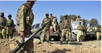 Three security officials martyred in KP