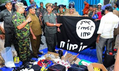 Three suicide blasts in Sri Lanka during Military raids at ISIS den