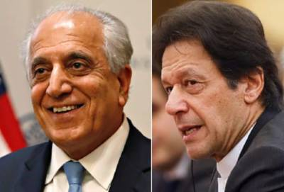 US top envoy Zalmay Khalilzad responds over PM Imran Khan statement