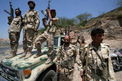 Gov't forces say capture 300 Houthi rebels in southern Yemen