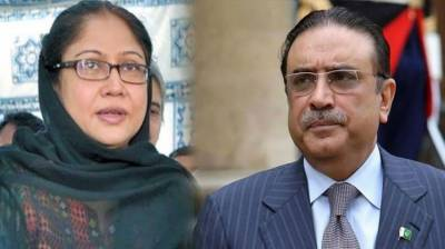 Hearing of fake bank accounts case against Zardari, Faryal adjourned