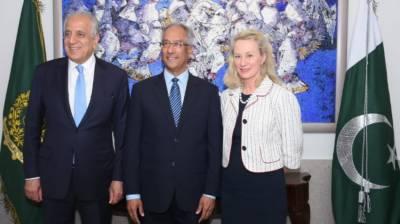 Pakistan, US discuss Afghan reconciliation process