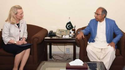 Senior US diplomat Alice Wells hints at improved ties with Pakistan