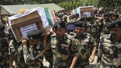 Bomb blast in India kills at least 16 police elite commandos