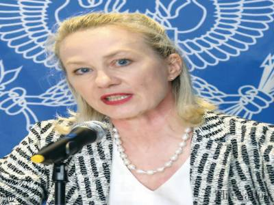 US top diplomat responds over question of use of Afghan soil by India against Pakistan