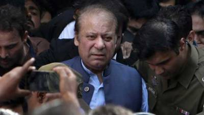 Former PM Nawaz returns to Kot Lakhpat Jail after bail expires