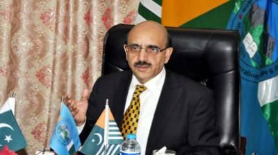 AJK President called upon intl' communities focus on Kashmir conflict