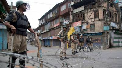 Complete shutdown in occupied Kashmir districts against Indian atrocities