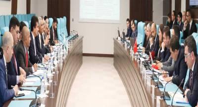 Pakistan and Turkish top officials held talks in Ankara over strategic economic framework