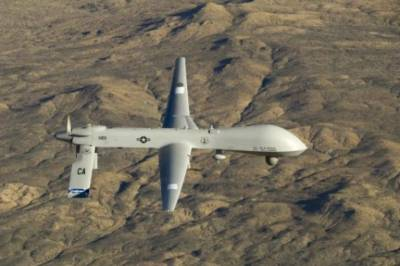 US drone strike near Pak Afghan borders, at least five terrorist killed