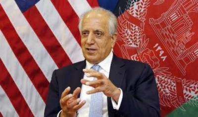 Zalmay Khalilzad calls for faster progress in Afghan peace process