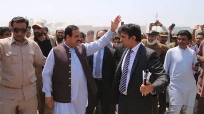CM Buzdar visits Ramzan bazar Noorpur Thal