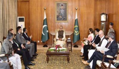 Pakistan becoming destination for investment: President