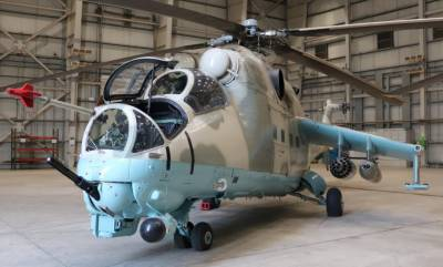 India hands over military combat helicopters to Afghanistan