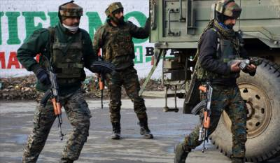 Indian troops play barbarism in Occupied Kashmir, martyrs 8 youth in fake encounters