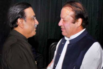 Nawaz - Zardari finally join hands to save each other