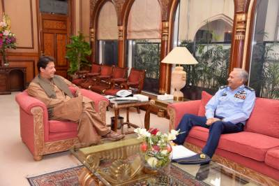 PAF Chief held important meeting with PM Imran Khan