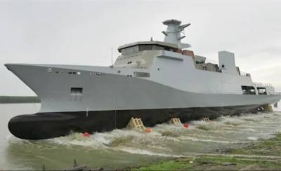 Pakistan Navy gets a state of the art Naval warship from European country