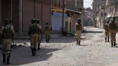 Complete shutdown across Occupied Kashmir