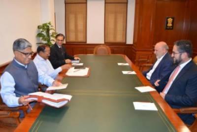 Indian NSA meets top Afghan envoy, seek role in Afghanistan endgame