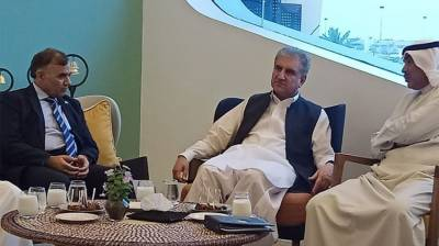Pakistan FM Shah Mehmood Qureshi held important meeting with Kuwaiti counterpart