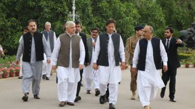 PM Imran Khan arrives in Peshawar, busy schedule of events