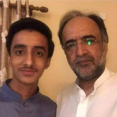 PPP's leader Qamar Zaman Kaira's son died in traffic accident