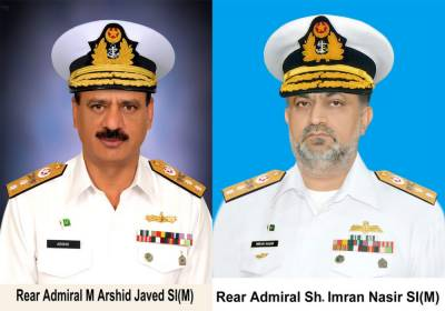 Two Commodores of Pakistan Navy promoted as Rear Admirals