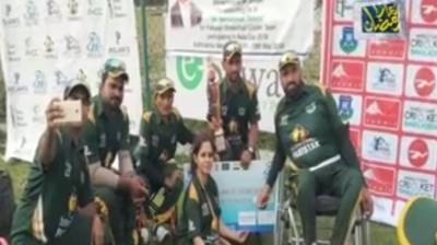 Pakistan wheelchair cricket team wins Wheelchair T20 Asia Cup beating India by 5 wickets